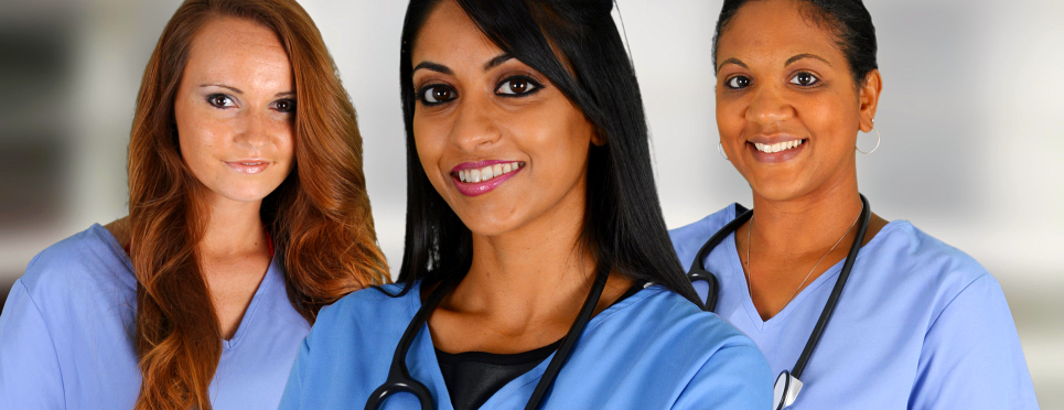 Female healthcare trainees